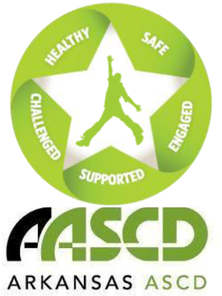 aascd logo with whole child tenets